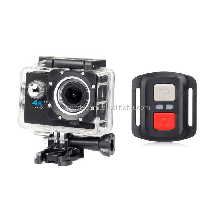 C3 Bicycle Surfing Skiing Swimming New Full HD 1080P WIFI H16R Waterproof 30 Meters Depth+Remote Action Sports Camera Camcorder