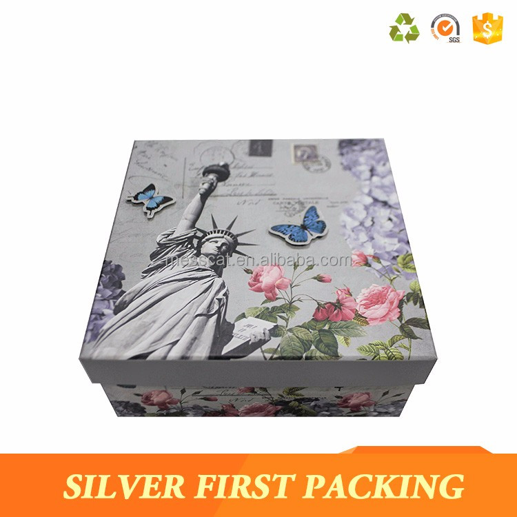 Box Packaging Supplier Produce Paper Box With Clear Lid