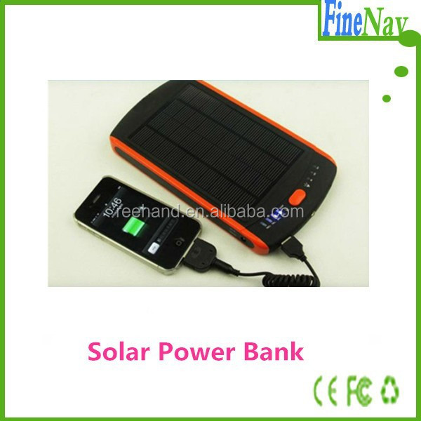 Pratica Solar Power Power Bank per laptop / telefono cellulare / Ipad