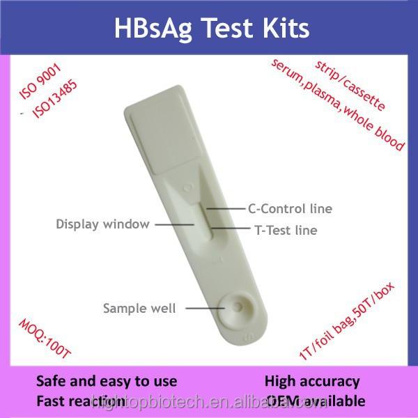 Medical Equipment Blood Test Hepatitis B Surface Antigen Rapid ...