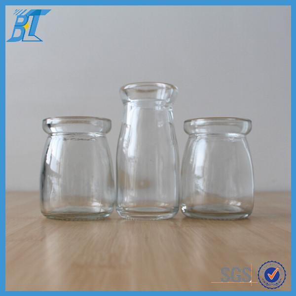 bouteille en verre avec du li ge pour lait pudding d corer les pots en verre pas cher petit pot. Black Bedroom Furniture Sets. Home Design Ideas