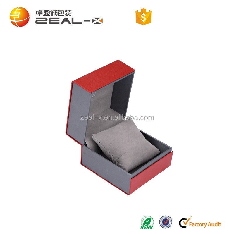 Pocket single watch packaging box wholeslae