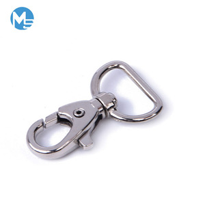 Wholesale metal swivel strap clip lobster hook 20mm d ring trigger spring snap hooks for different uses