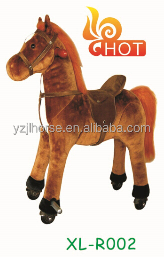 2016 Walking Plush Pony with Easy & Funny Horse Riding