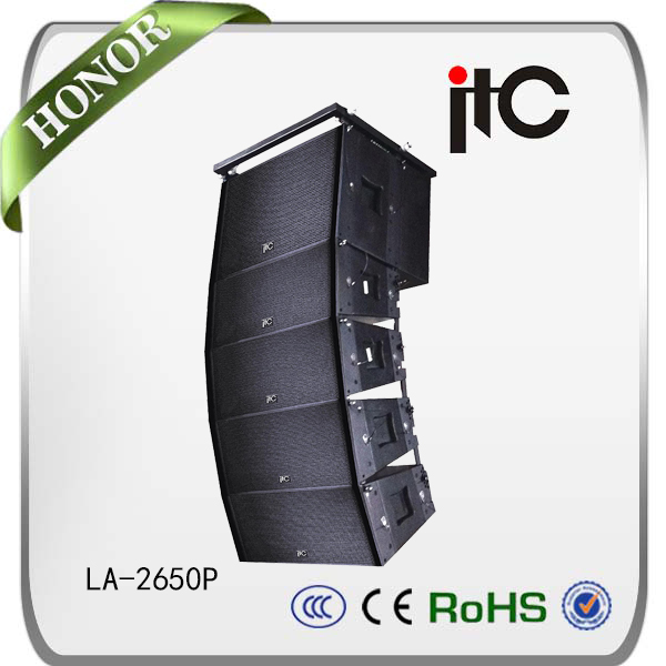 China manufacturer ITC LA Series active line array sound system, wholesale cheap price active line array