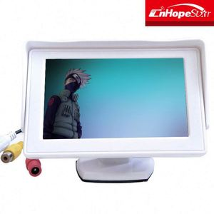 "car led monitor dc 12volt 4.3"" inch TFT LCD Car cctv mini Monitor"