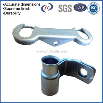 Iso9001 Furniture Assembly Hardware Clip Stamping Part For Automotive Precision Galvanized Metal