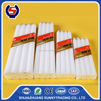 China Factory Candles White Unscented