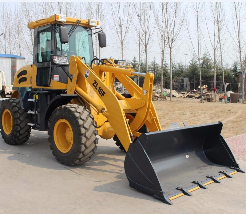 4wd Weifang hydraulic zl16 1.6t small garden tractor loader