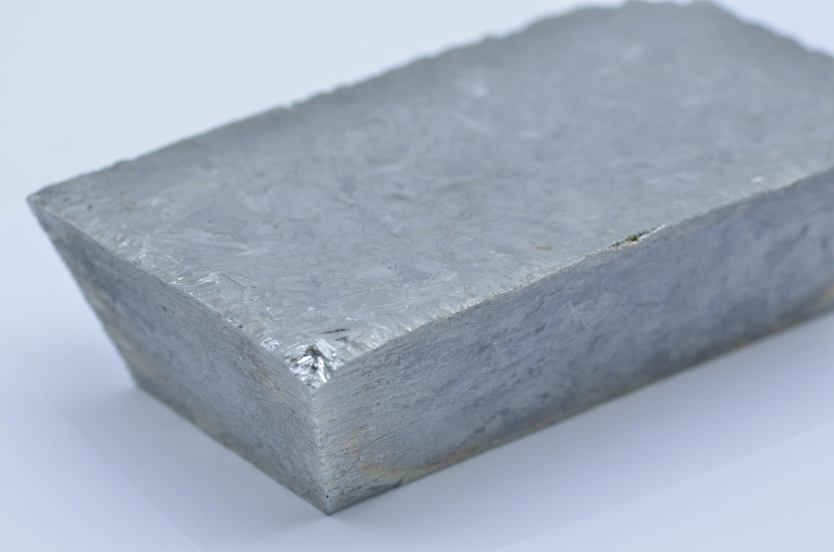 Silver Grey 99.99% Tellurium Metal Ingot for sale