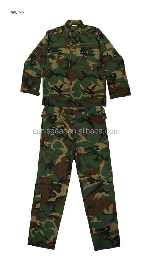 Hot Selling Military Uniforms Camouflage CL34-0055 For Wargame Paintball Field