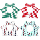 Wholesale 360 Round Baby Cotton Drool Teething Bib Set