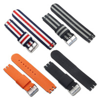 Factory OEM Supplier 19mm Fabric For Watch Band Waterproof With Various Color