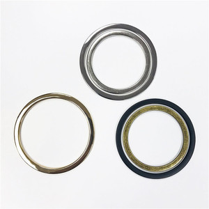 Hanger Barrel Electroplating Round Metal O Rings For Bag Accessories