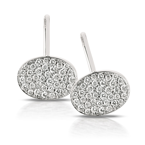 Wholesale Gemnel jewellery brass alloy fashion ear pins earrings