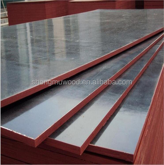 shandong linyi 18mm outdoor construction used film faced plywood for construction