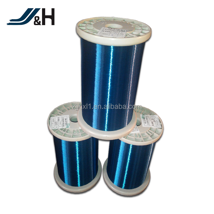 UEW 155/180 0.012mm Solderability Enameled Copper Wires For Motor Winding