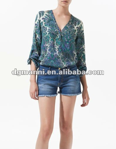 ladies blouse collar design 2012 embroidered blouse