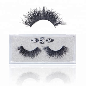 Clear eyelash box packaging 3D Mink false eyelash glue eyelashes false lashes uk