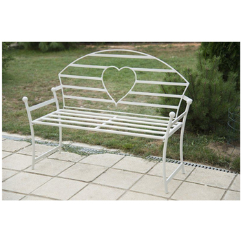 Super Outdoor Iron White Garden Bench Love Heart Design Buy White Garden Bench Outdoor Iron Bench Bench For Garden Product On Alibaba Com Ncnpc Chair Design For Home Ncnpcorg