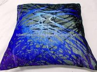 Digital printed velvet cushion cover