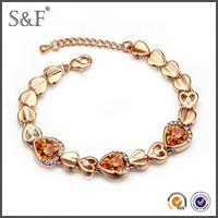 Crystal Fashion Luxury bali sterling silver bracelets