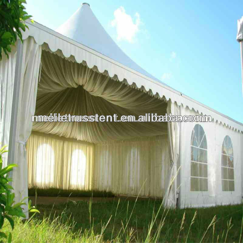 Roof Top Event Aluminum Party Banquet Wedding 6x6 Pagoda Food Booth Tents For Sale