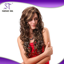 100% Fashinable Fiber synthetic mustache wig