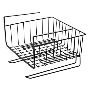 Wholesale Stock Small Order Closet Office Sundries Hanging Basket Creative Kitchen Cupboard Storage Rack