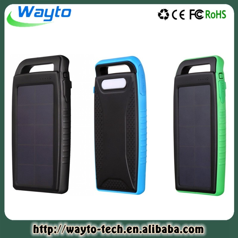 Made Usa Wholesale Products 10000Mah Power Bank Solar Mobile Charger