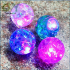 Wholesale Led Light Up Bouncing Ball with water Toy / flashing light ball toy with water