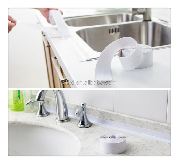 sealing kitchen sink bath seal tape aquastrap sealing strip for your shower tray or