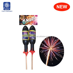 Ghaos 1.4g un0336 cheap price bottle sky rocket professional fireworks big
