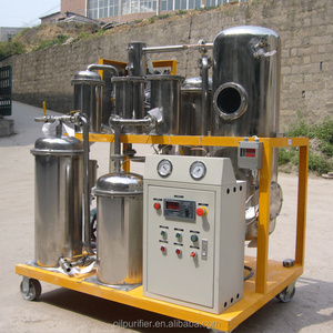 Zhongneng Cooking oil filter dewater degas machine with high vacuum purification system