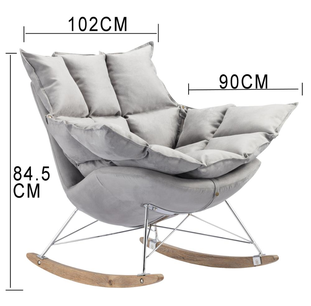 New Product Relax Chair Leisure Rocking Chair Husk Chair for Sale
