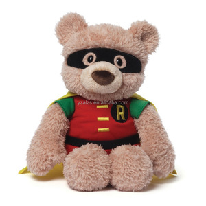 Nice Comics Robin Hardwin Stuffed Bear Toy