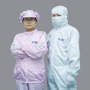 High Quality Antistatic Esd Pink Protective Coverall