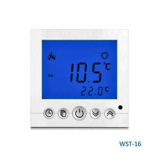 WST-16 Large Screen LCD Electrical Thermostat for Underfloor Heating