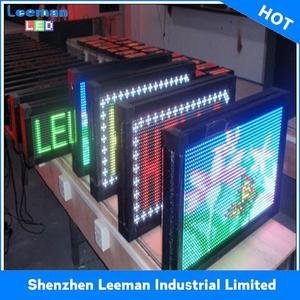 indoor full color stage rental display programmable led scrolling message sign board