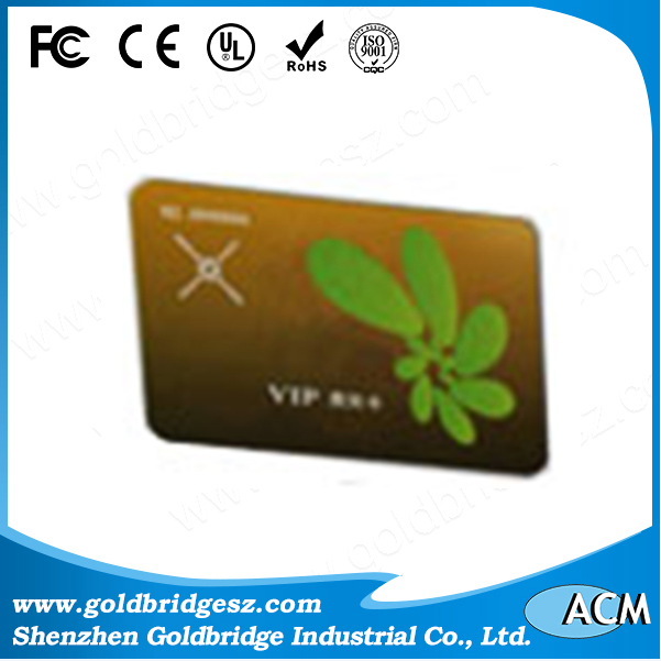 China supplier Deluxe Irdeto 2 Smart Rfid Business Card Gen2+Icode2