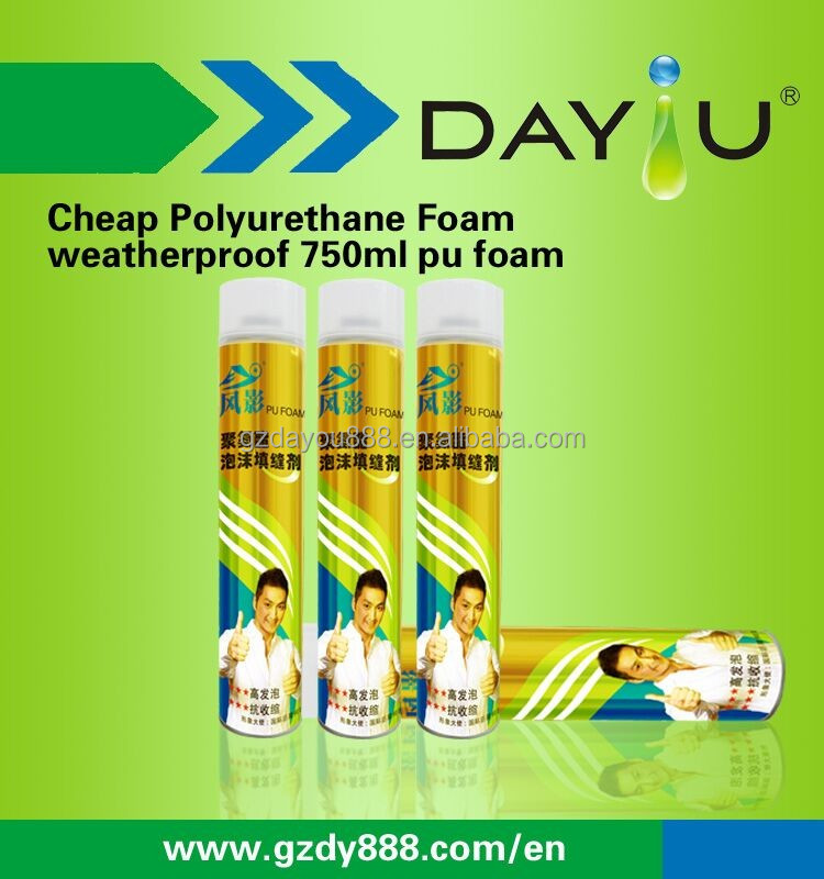 large expansion pu foam / foam polyurethane sealant construction