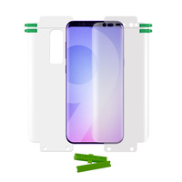 Protective film 360 0.18mm full cover tpu double positioning for samsung Galaxy s8 s9 s10 plus full screen cover