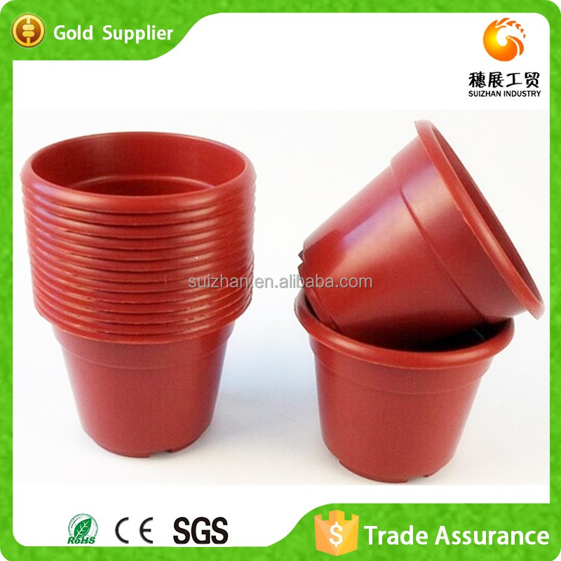 Wholesale Taobao Lighted Outdoor Plastic Novelty Flower Pot For Home&Garden