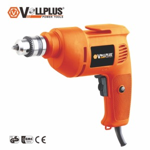 Vollplus VPHD1007 300W 10mm electric power variable speed wood tools electric hand drill machine