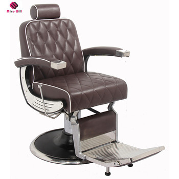 Best Quality Promotional Fancy Baber Chair Barber With The Circular Base