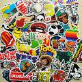 300Pcs No Repeat DIY Stickers For Skateboard Laptop Luggage Snowboard Phone Toy Styling Home Decor Stickers