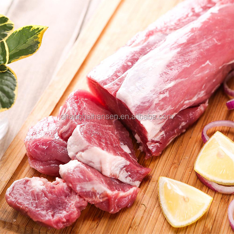 Pork loin meat product import agency services at shanghai port