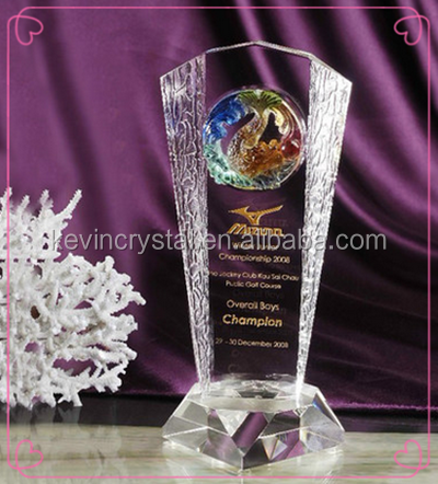 Fashion Crystal Business Trophies Awards,Trophy Parts Wholesale