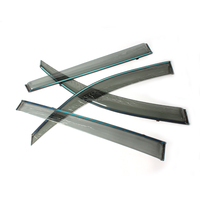 Pc+steel 4 Doors Wind Deflector Car Window Sun Visor For Toyota ...