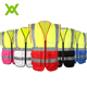Customized chalecos de seguridad hi vis reflective safety vest with pocket